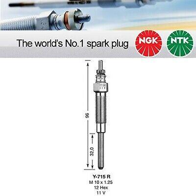 3041 Pack of 1 NGK Y-706R Glow Plug