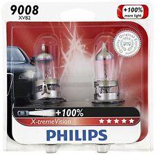 2x Philips 9008 H13 X-tremeVision Upgrade Headlight 100% More Light Bulb 60/55W