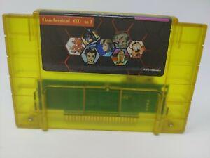 180 In 1 Super Game Cartridge 16-Bit Multicart NTSC SNES For Super Nintendo *NEW