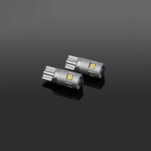 5 LED PURE WHITE 501 T10 W5W SIDELIGHT BULBS FORD FIESTA HATCHBACK ST ZETEC