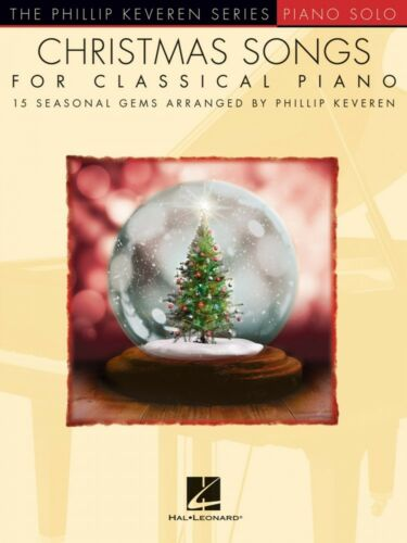 Christmas Songs for Classical Piano Sheet Music Phillip Keveren Series 000233788