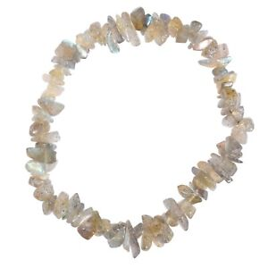 Premium-CHARGED-Labradorite-Crystal-Chip-Stretchy-Bracelet-REIKI