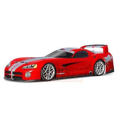 HPI Racing 2003 Dogde Viper GTS-R Clear 190mm Body EP 1:10 RC Cars Touring #7373
