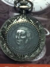 GEORGE WASHINGTON 1ST PRESIDENT 1789-1797 POCKET WATCH NEW