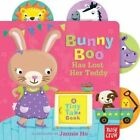 Bunny Boo Has Lost Her Teddy: A Tiny Tab Book by Nosy Crow (Board book, 2014)