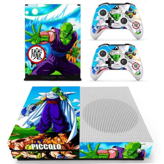 Xbox one S Slim Console Skin Dragon Ball Z Piccolo Vinyl Skin Stickers Decal Set