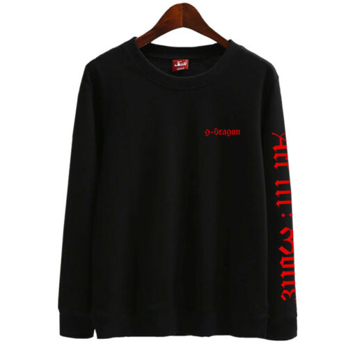 G-dragon KPOP Sweater ACT III MOTTE 2017 TOUR GD sweatshirt BIGBANG D220