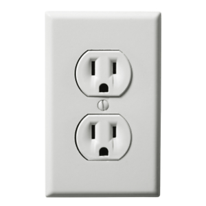 Fake Wall Outlet Sticker - Electrical Plug Sticker - Prank and ...