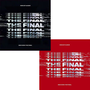 Details about IKON [NEW KIDS:THE FINAL] EP Album RANDOM  CD+P Book+Card+Sticker+F Poster SEALED