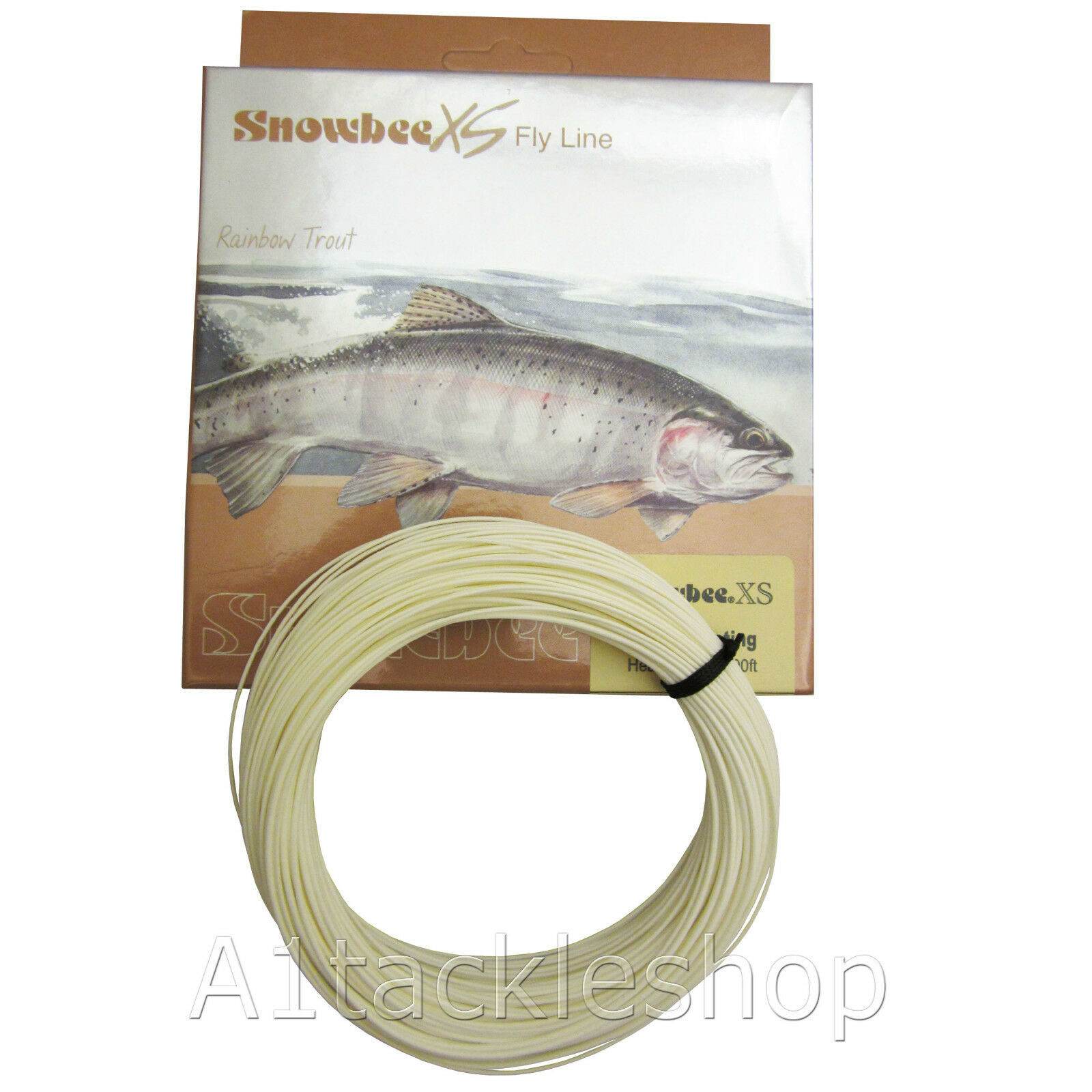 NEW Snowbee XS Floating  Ivory Fly Line - WF or DT for Trout Fly Fishing  promotional items