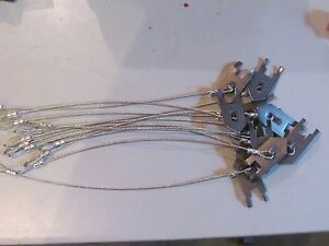 """TRAPS TRAPPING SNARES NEW SALE 12 WOLF FANG HEAVY DUTY EARTH ANCHORS 15/"""" STAKES"""