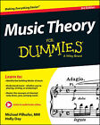 Music Theory For Dummies by Michael Pilhofer, Holly Day (Paperback, 2015)