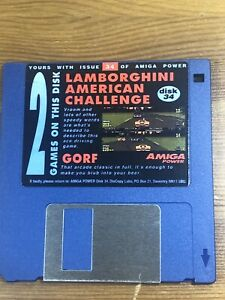Amiga-Power-Magazine-cover-disk-34-Lamborghini-American-Challenge-TESTED-WORKING