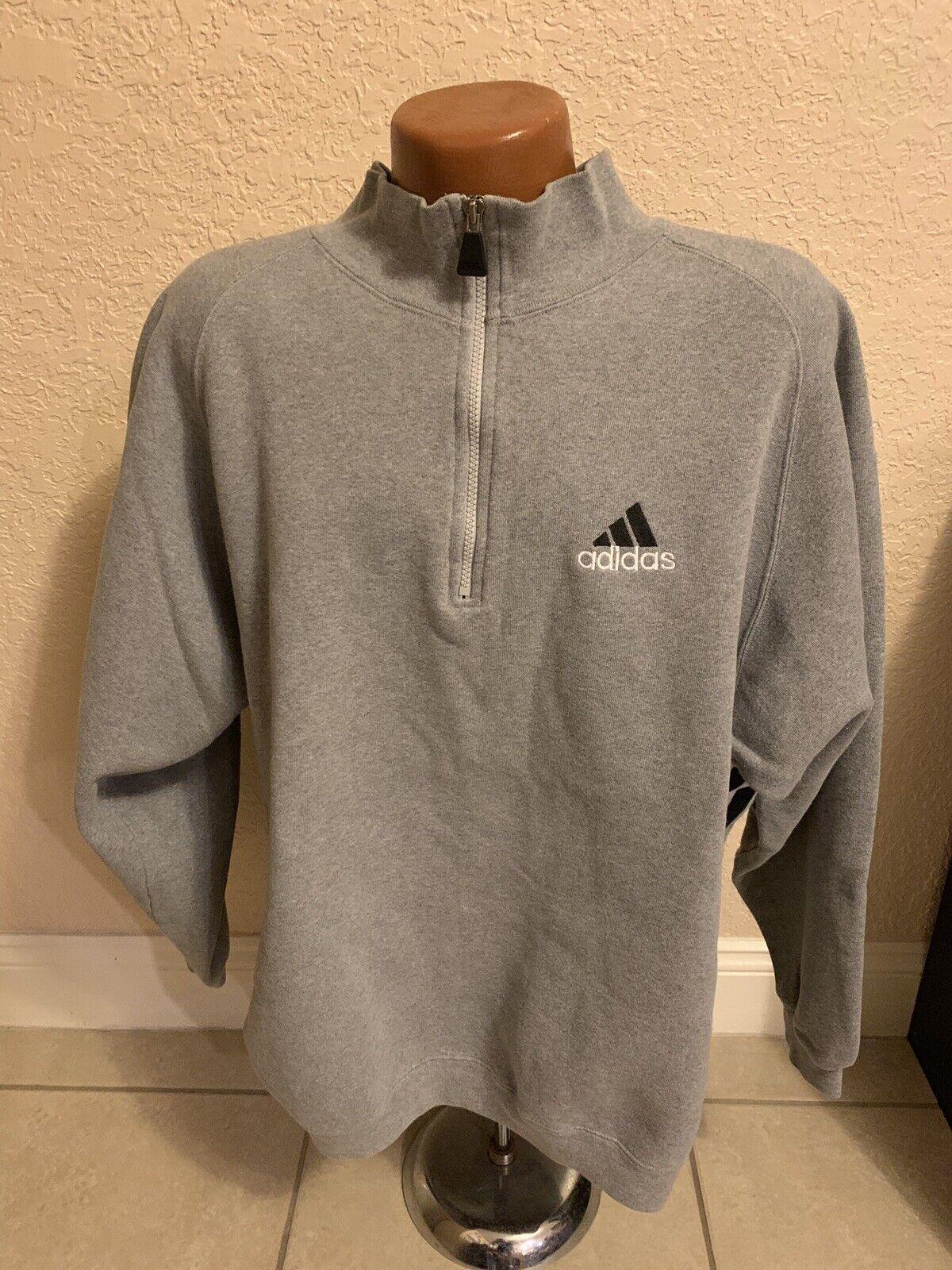 Vintage Adidas Half Zip sweater fleece. Size 2XL. Good condition