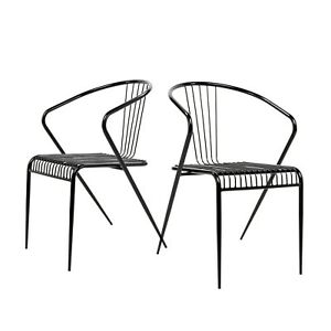 Prime Details About Set Of 2 Mid Century Modern Wire Chair Replic Side Chair Adjustable Leg Black Creativecarmelina Interior Chair Design Creativecarmelinacom
