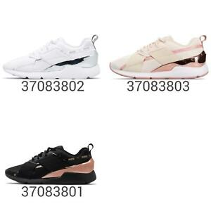 Details about Puma Muse X 2 Metallic Wns Gold Silver Women Fashion Running Shoe Sneaker Pick 1