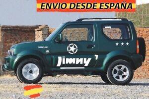 Kit-Laterales-Vinilos-Adhesivas-Estrellas-Decal-Stickers-Coche-4x4-Suzuki-Jimmy