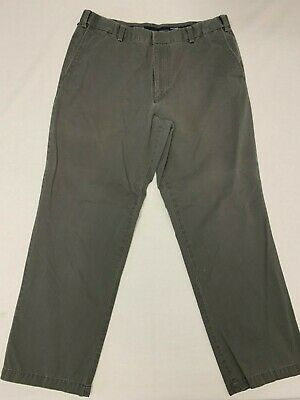 Provided Men's Dockers Gray Khaki Straight Fit Pants 38x32 Euc Neither Too Hard Nor Too Soft Clothing, Shoes & Accessories
