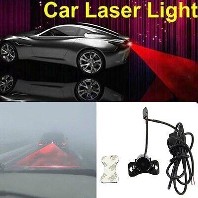 Car Universal Laser Rear Fog Light #D Warning Lamp Anti-Collision Taillight Red