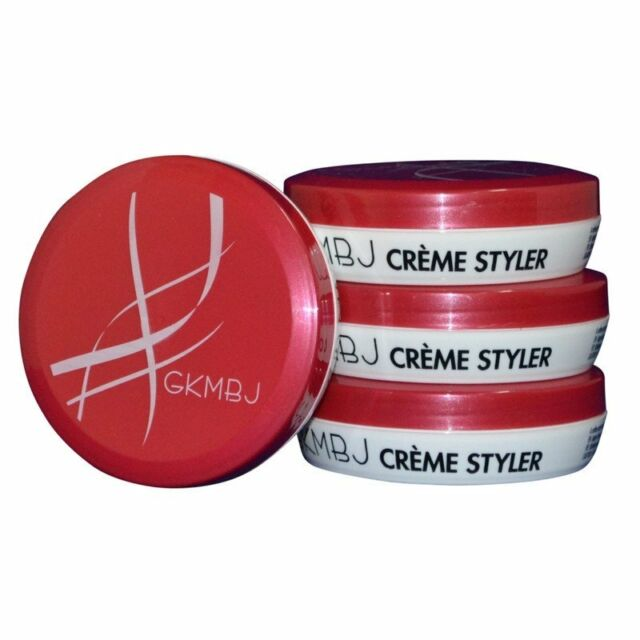 GKMBJ Creme Styler 70g - Softer Paste - Firm Holding Look - Shampoo Soluble