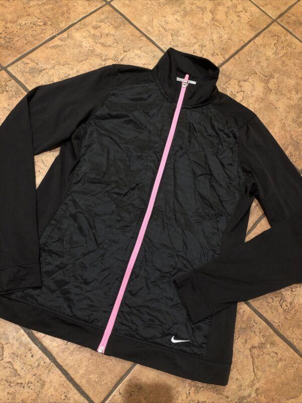 Strict Women's Nike Full Zip Black Jacket, Large