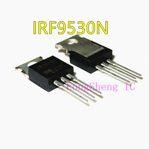 10PCS-IRF9530N-TO-220-Trans-MOSFET-P-CH-100V-14A-new