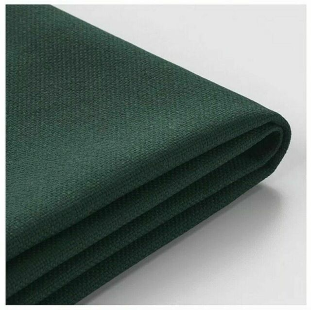 Excellent Ikea Vimle Cover For Ottoman With Storage Gunnared Dark Green Theyellowbook Wood Chair Design Ideas Theyellowbookinfo