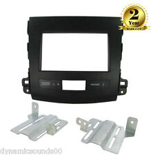 CT23MT01 CD Stereo Double Din Fascia Panel Fitting Kit For Mitsubishi Outlander