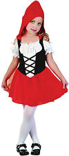 CHILD LITTLE RED RIDING HOOD SWEETIE #TODDLER 2-3 YEARS HALLOWEEN FANCY DRESS