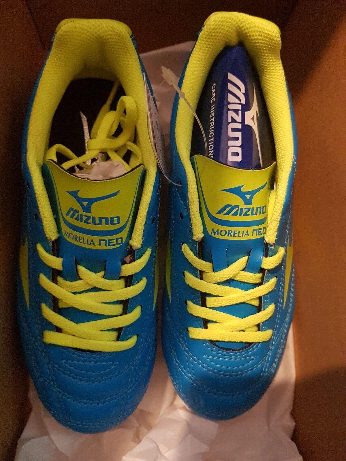 Mizuno Morelia Neo Jr.MD Fußball Stiefel UK Größe 1 EU32.5