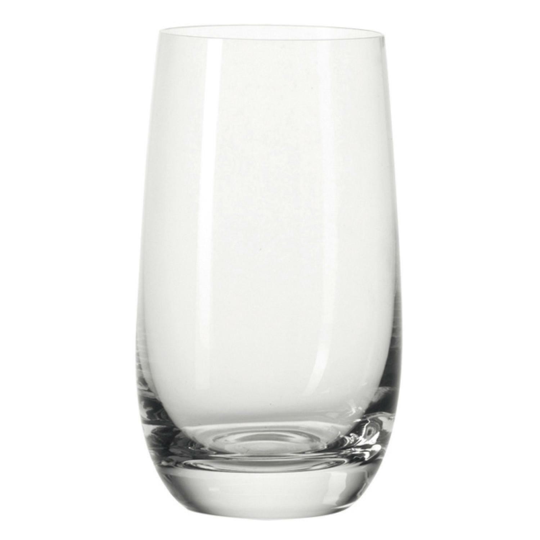 Leonardo Rock Becher XL Trinkglas Wasserglas Glas 550 ml 4er Set 13000