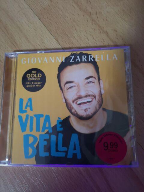 Giovanni Zarrella - *La Vita e Bella-Goldedition inkl. 5 neue Hits* - CD - NEU !