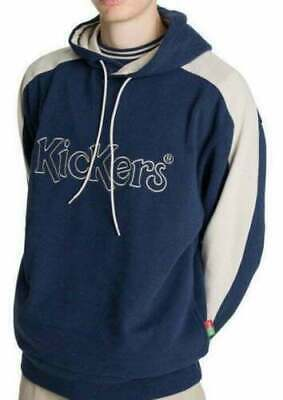 £59.99 KA2 Mens Kickers Large Logo Black Sweatshirt