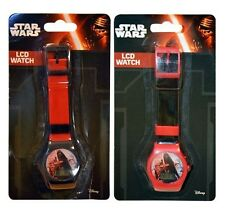 Star Wars 2pcs Digital LCD Wrist Watch For Boy Kids Birthday