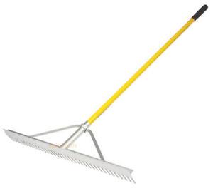 large garden rake