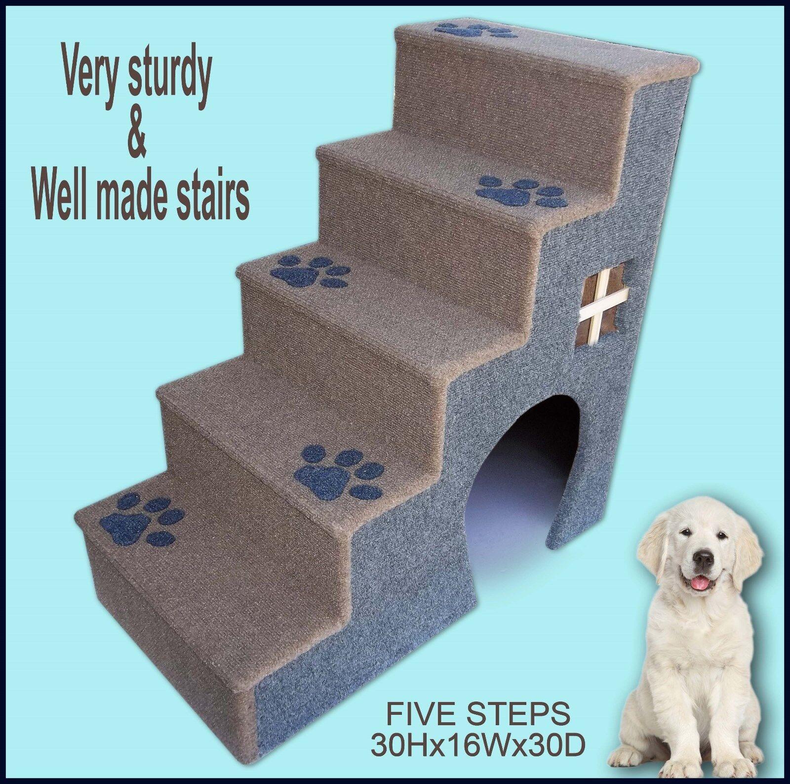 Dog Steps For Bed, Pet furniture, Puppy steps, Pet Supplies. Pet Ladder.