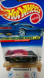100% Vrai Hot Wheels Pontiac Rageaous 2000-002 (9961)