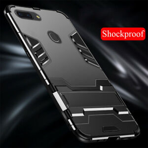 Pour-Oppo-F9-F7-F5-F3-A83-A71-A59-Chocs-Armure-Hybride-Pied-Coque
