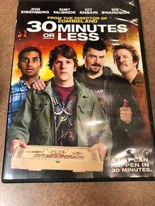 30 Minutes or Less (DVD, 2011) Jesse Eisenberg, Aziz ...