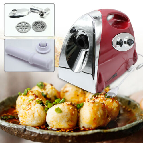 220V Hachoir à Viande Electrique Inox Professionnel 1.5kg//min Saucisses Cuisine