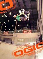Bucky Lasek 2005 Ogio Skateboard Promo Poster Old Stock & Mint Condition