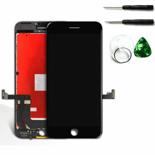 reputable site ddc9e efa68 Black LCD Replacement Screen 3d Touch Digitizer Asembly for iPhone 7 Plus  Tools