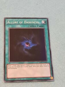 DESO-EN044//DASA-EN054 Allure of Darkness Super Rare NM 1st Edition