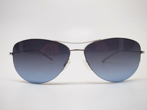 Oliver Peoples OV 1004S Strummer-T S Silver w//Blue//Grey Gradient Sunglasses
