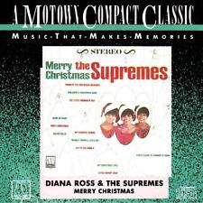 DIANA ROSS & THE SUPREMES - Merry Christmas (Motown CD 1986) RARE USA Import EXC