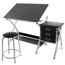 Drawing Craft Desk Chair Drafting Art Table Station Studio Office Stool Student