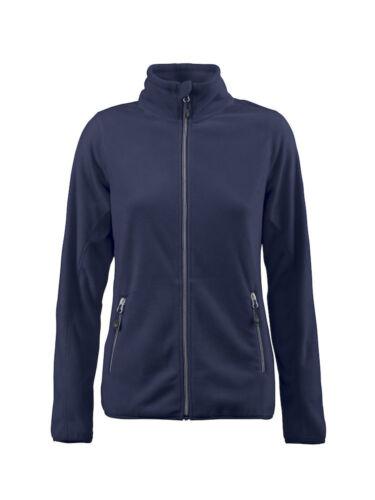 7 couleurs James Harvest-Femmes Micro Polaire-Light Active Zip Fleece-S-3XL