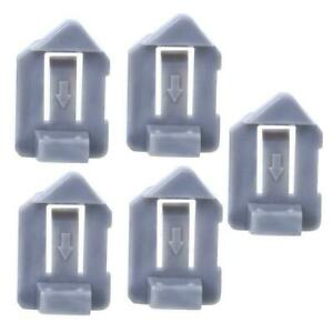 5Pcs Knitting Machine Driving Cam Plastic Accessories for Silver Reed SRP60N NEW