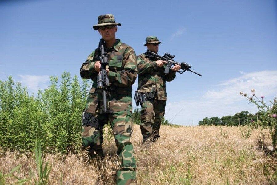 US ARMY WCP Hose woodland camouflage Uniform BDU pants Hose WCP Twill XXXLarge Long 3XLL 926ed9