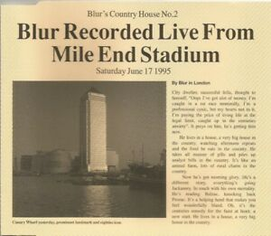 Blur-Country-House-Recorded-Live-From-Mile-End-Stadium-1995-CD-single